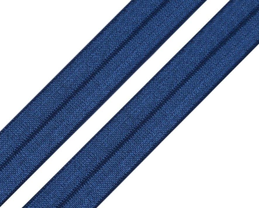 Pruženka lemovací královsky modrá 18mm