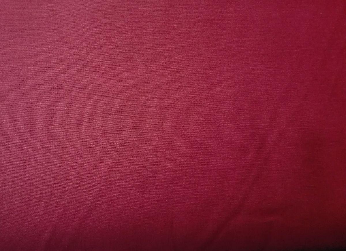 Pevnější plátno se lnem červené