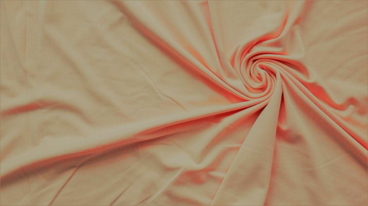Elastický úplet meruňkový jednolíc