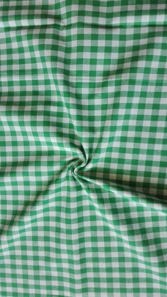 kanafas vytkávaný zelená kostka