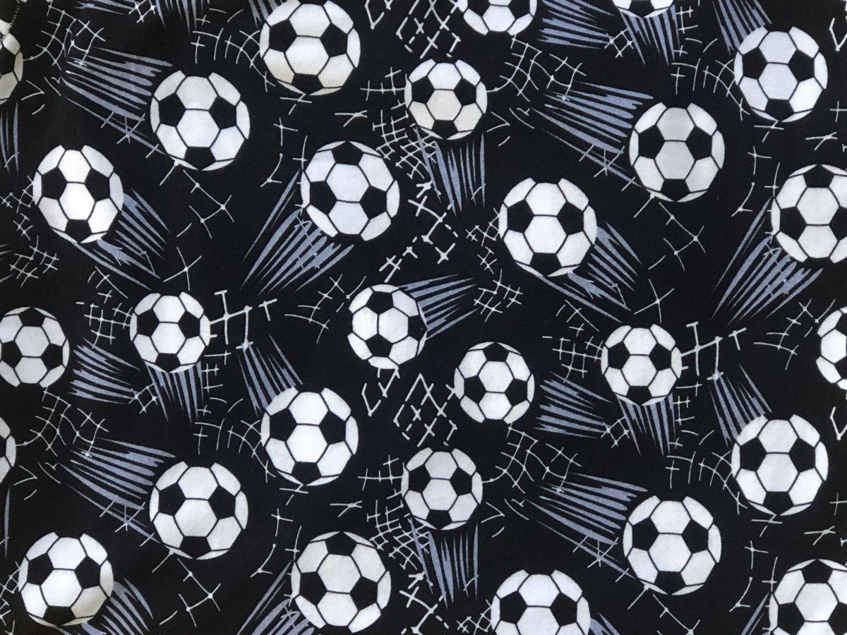 Elastický úplet DIGITÁLNÍ TISK fotbalové míče