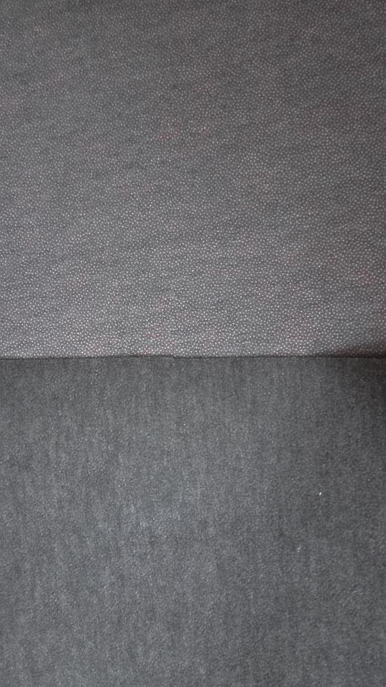 Zažehlovací vlizelín šedo-černý