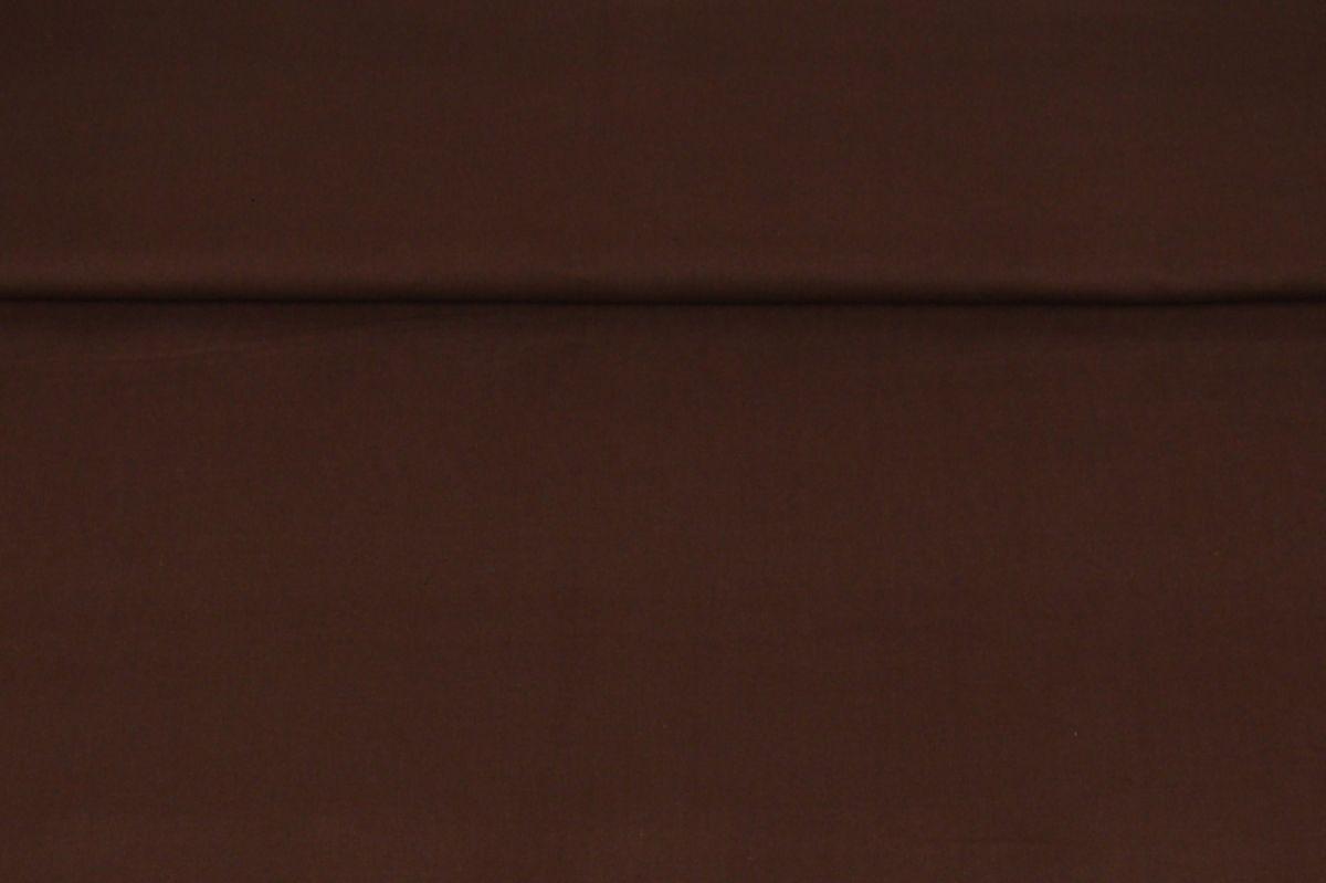Plátno jednobarevné čokoládově hnědé
