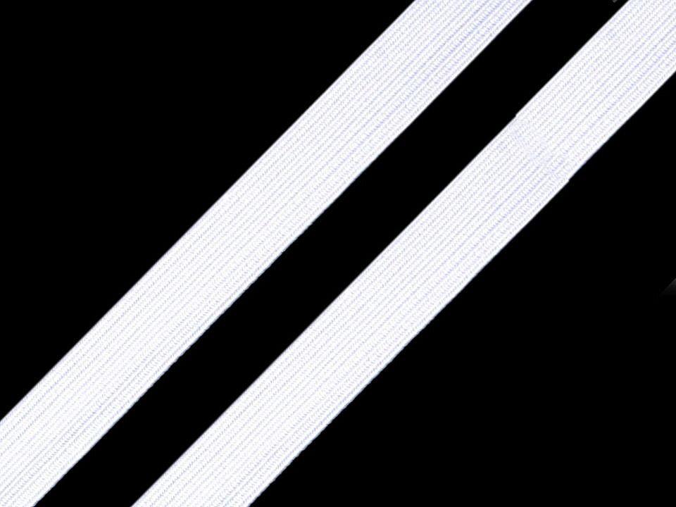 Prádlová pruženka bílá 11 mm