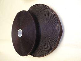 Suchý zip hnědý 25mm
