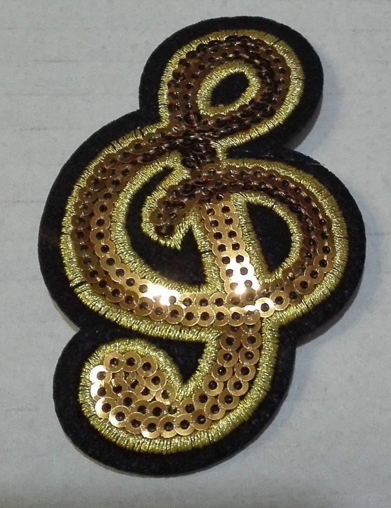 Nažehlovačka houslový klíč