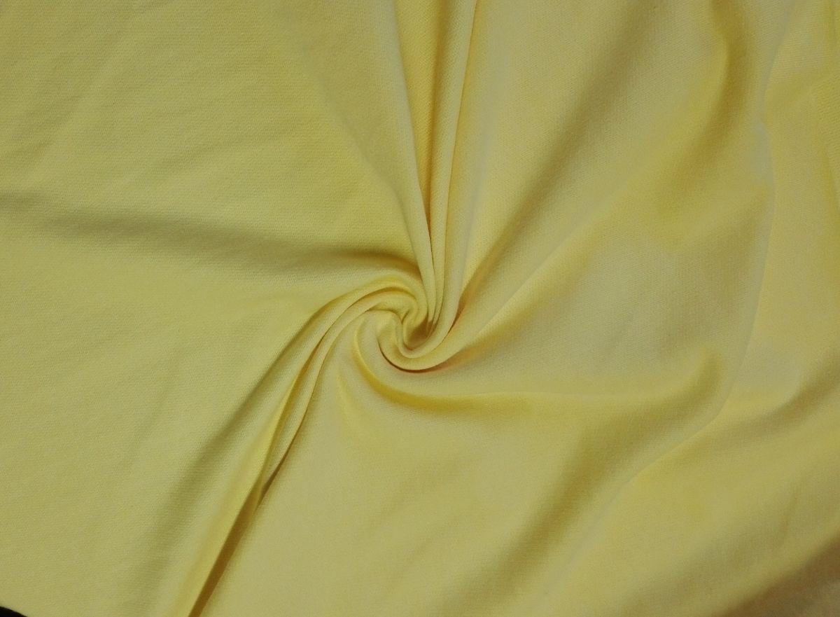 Teplákovina světle žlutá