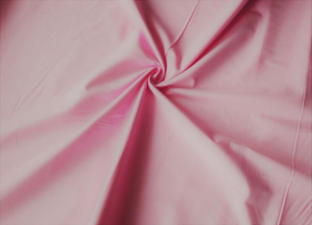 Plátno jednobarevné světle růžové 220cm šíře