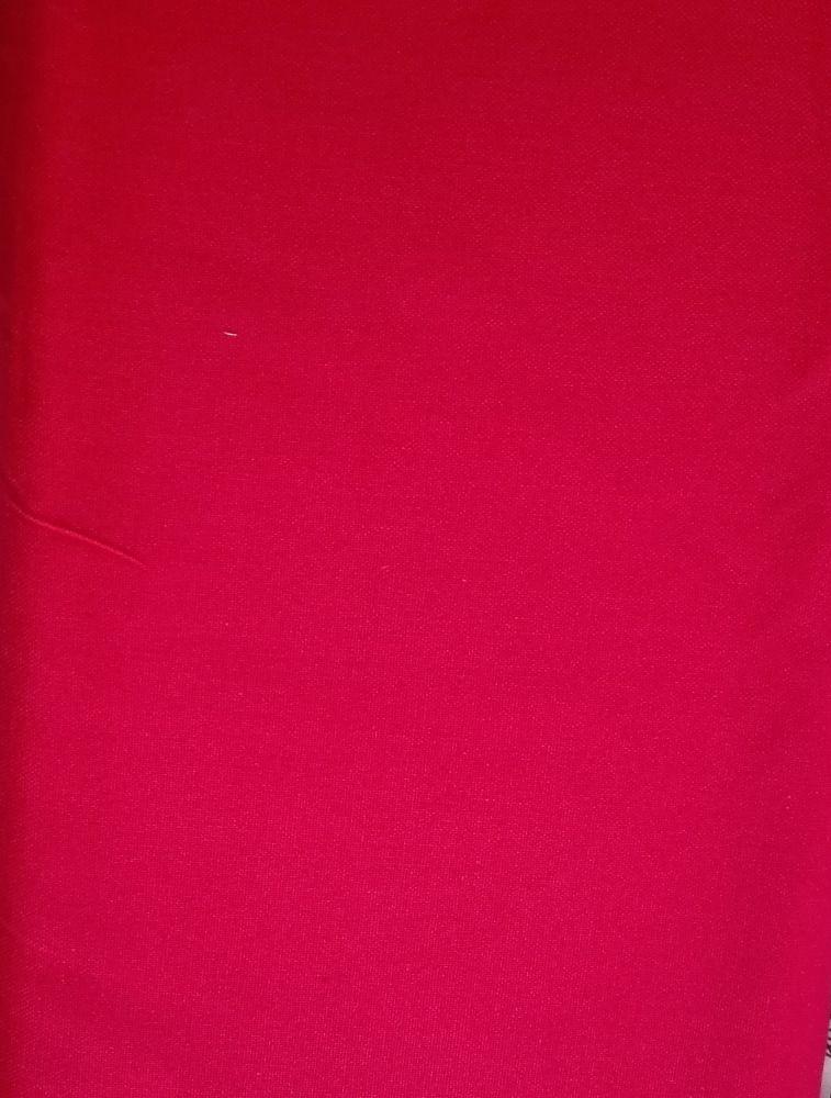 Plátno jednobarevné červené