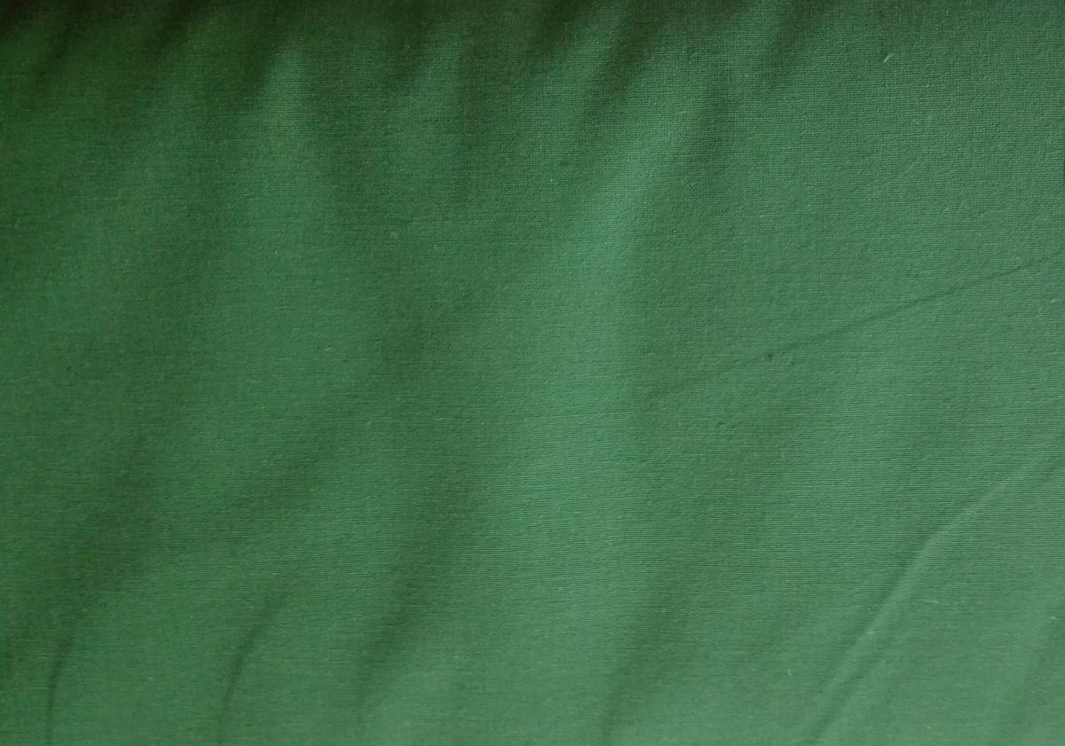 Pevnější plátno se lnem zelené