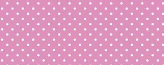 Plátno s potiskem růžové 6mm puntíky