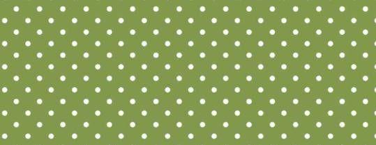 Plátno s potiskem zelené 6mm puntíky