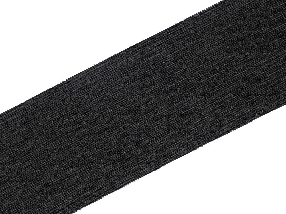 Pruženka hladká černá 45 mm